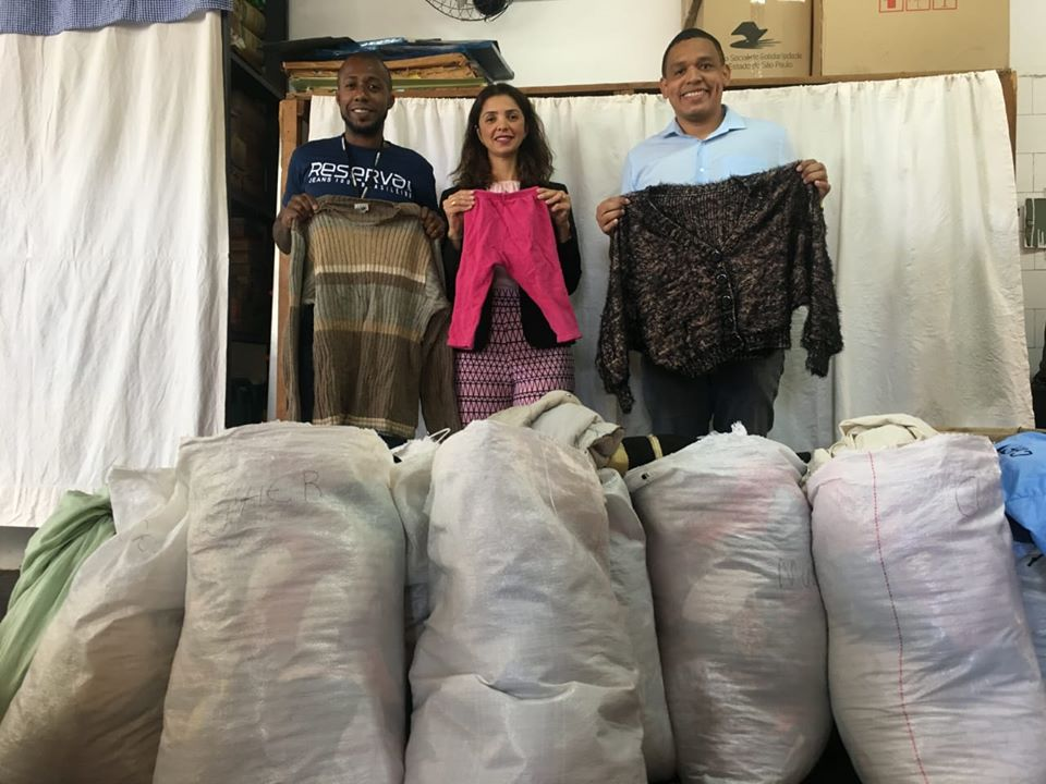 [COAT CAMPAIGN] RECEIVES DONATIONS FROM FRIGORÍFICO BARRA MANSA